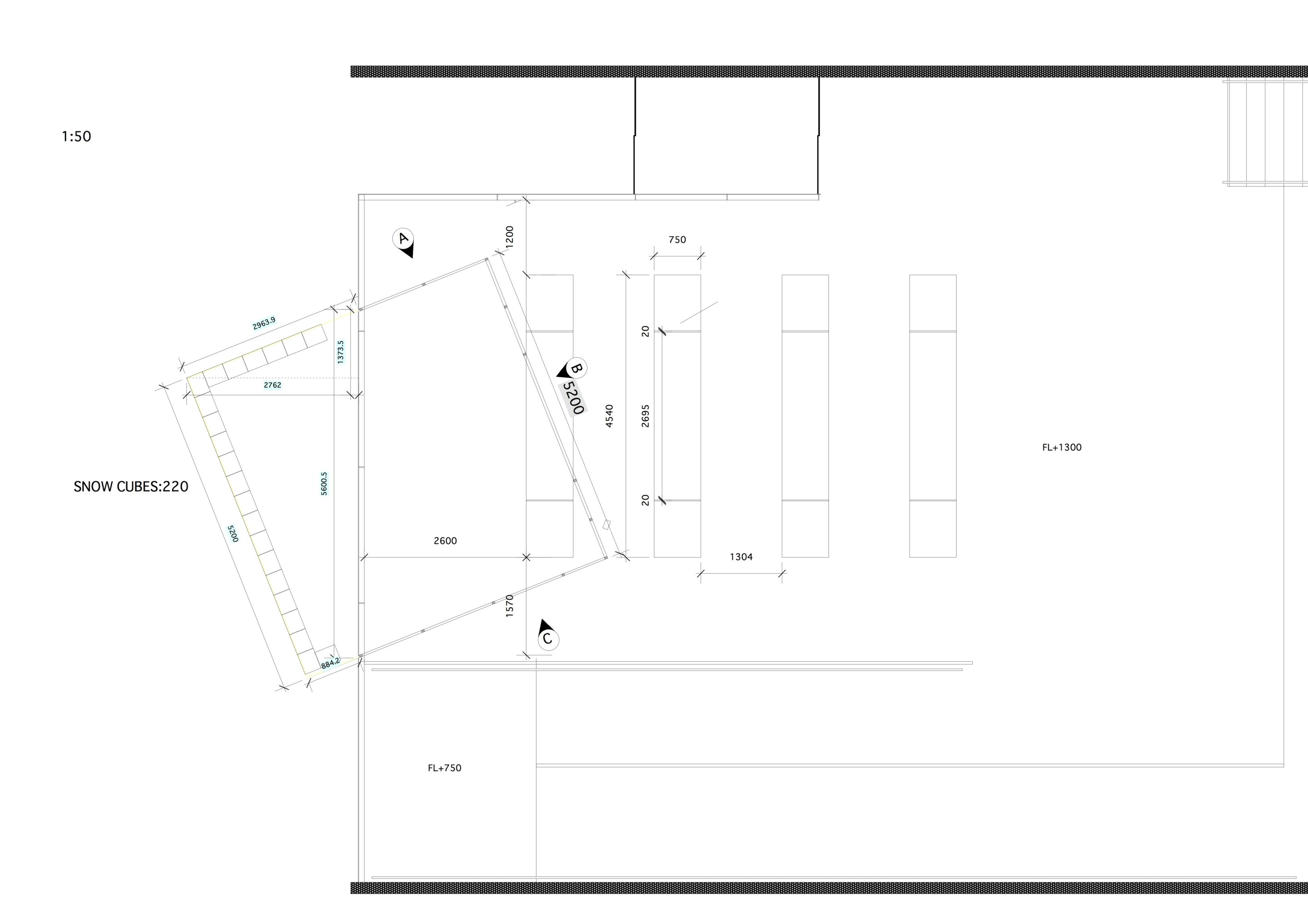 Architecture drawing, floor plan